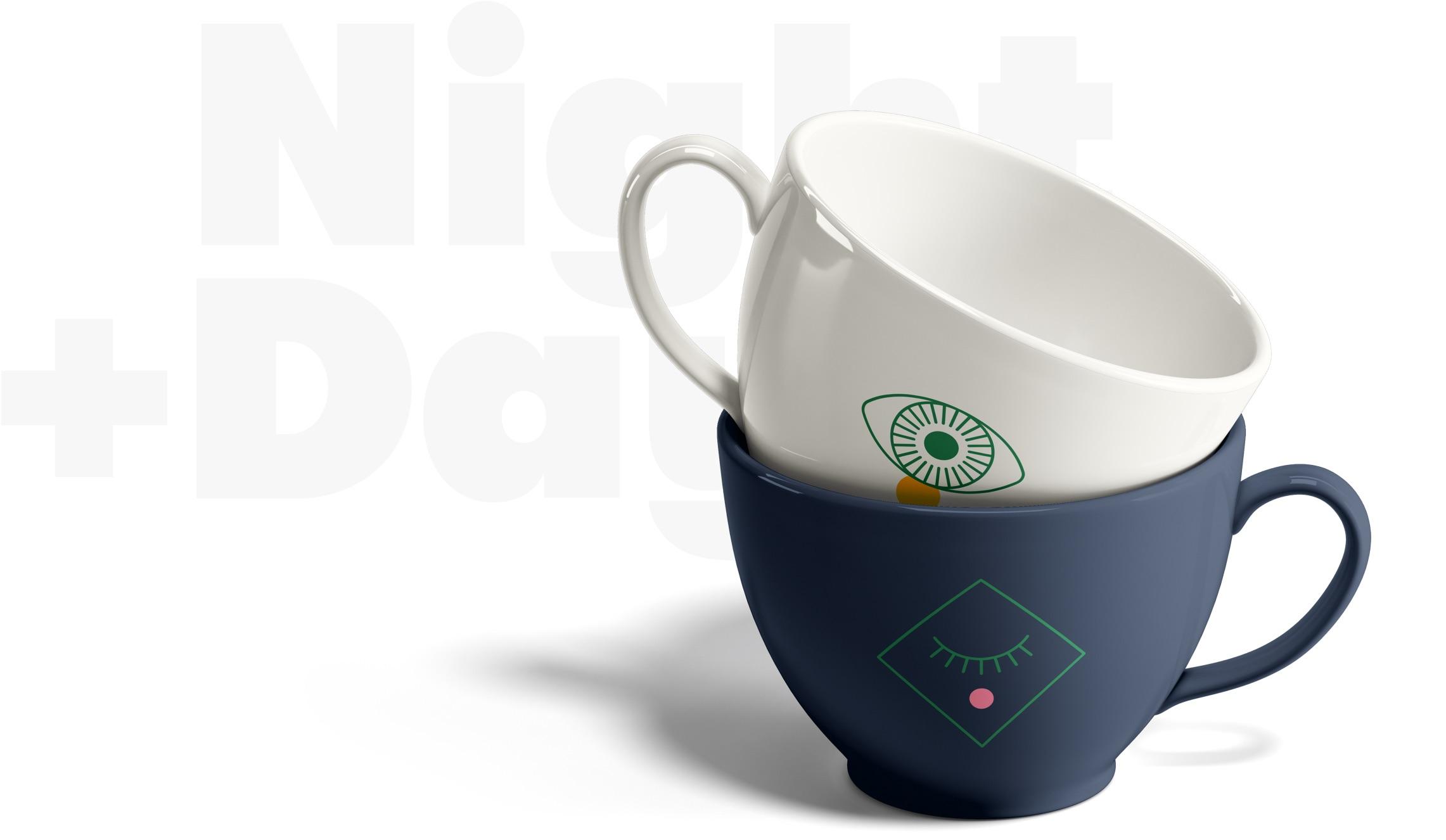 Cannabis Tea Cup Branding