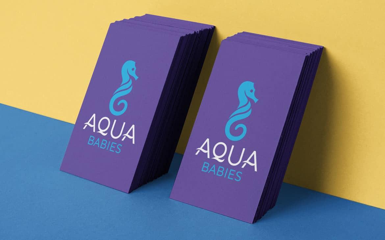 Aqua Babies Logo Design