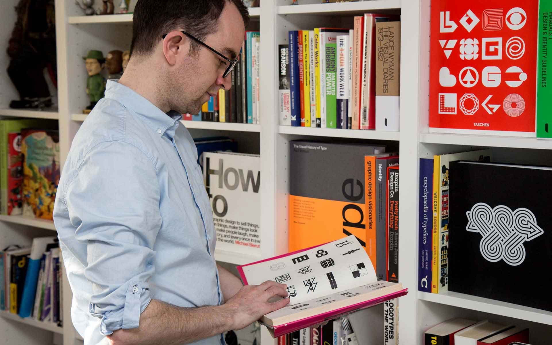 Ian Paget Graphic Design Book Collection