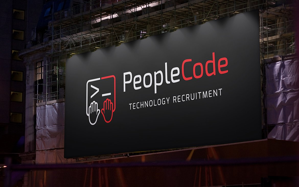 People Code Logo Design