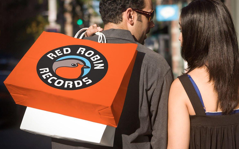 Red Robin Records - Logo Design