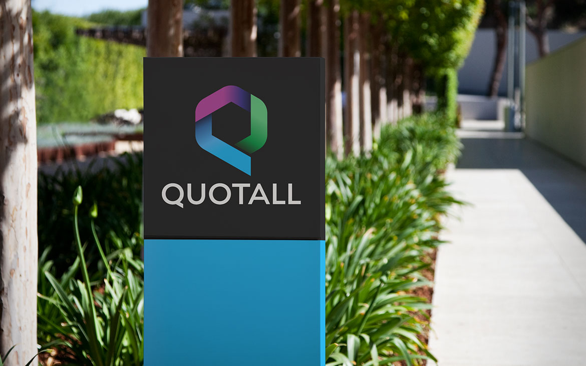 Logo Redesign for Quotall