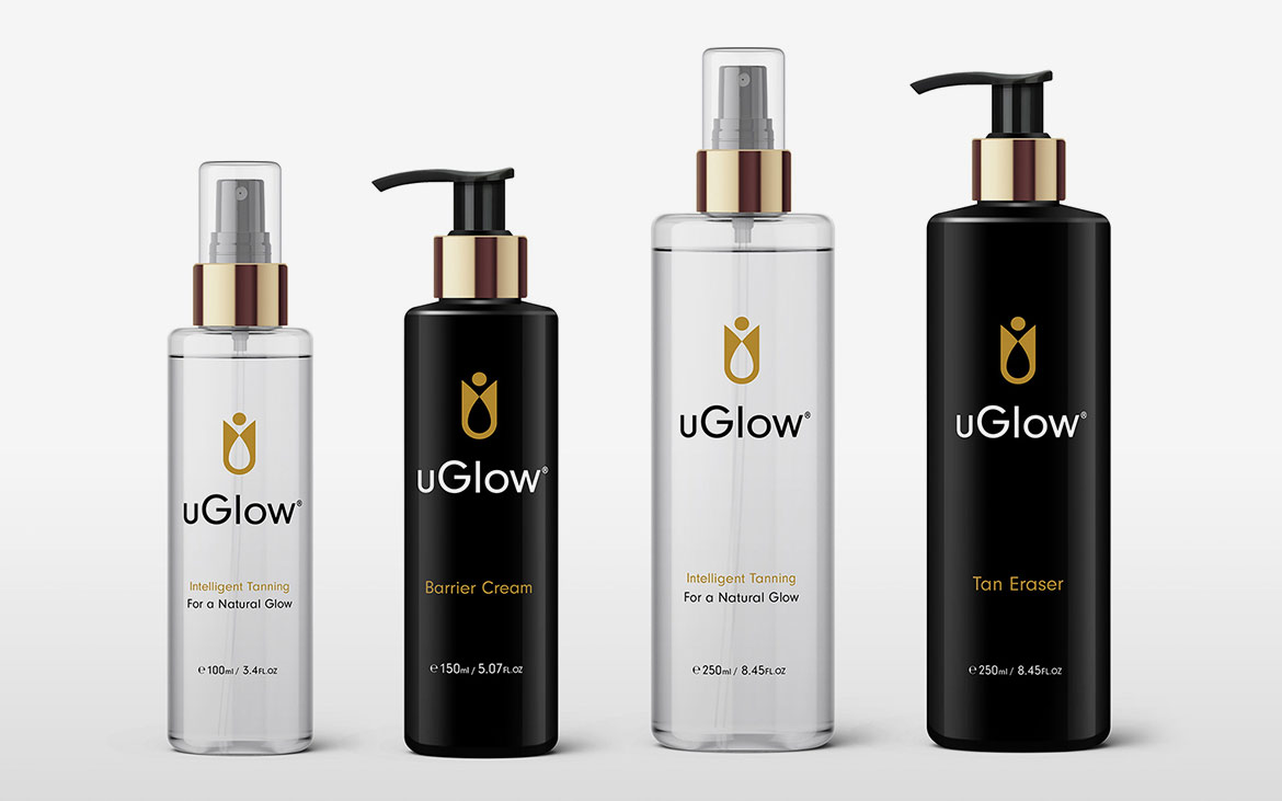 uGlow Logo Redesign & Packaging