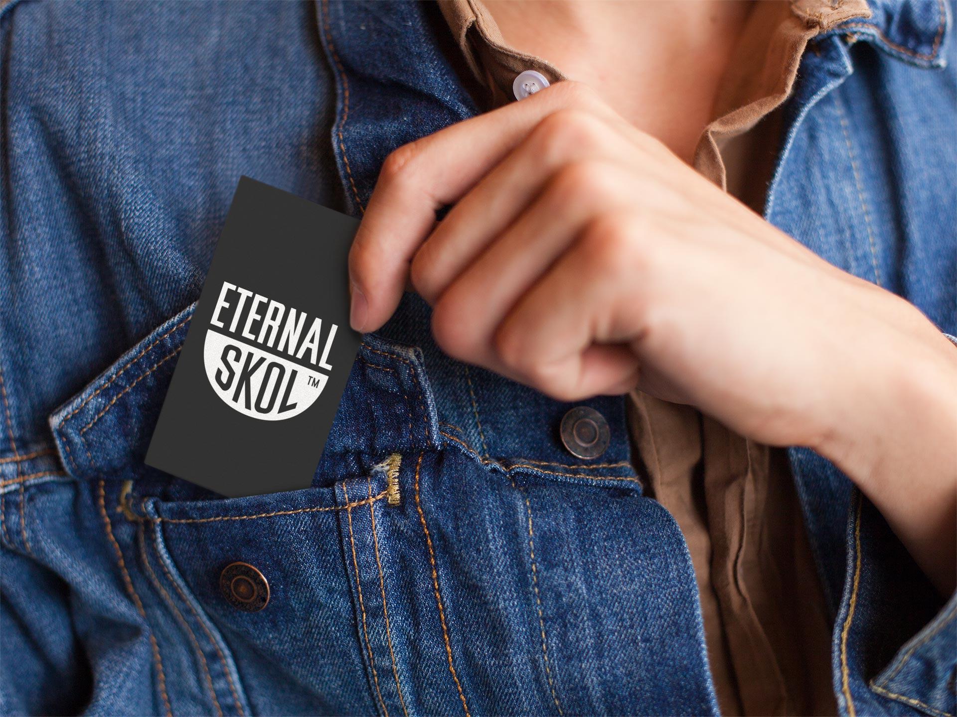 Eternal Skol - Business Card Design
