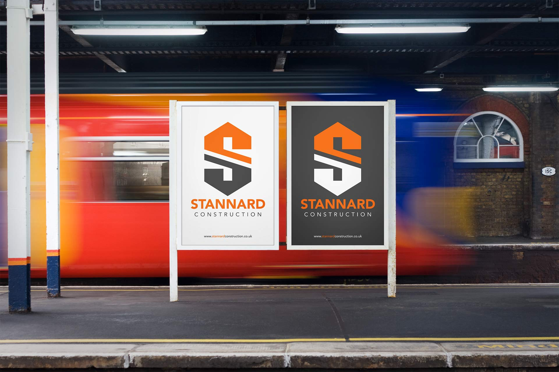 Stannard Construction Logo on Posters