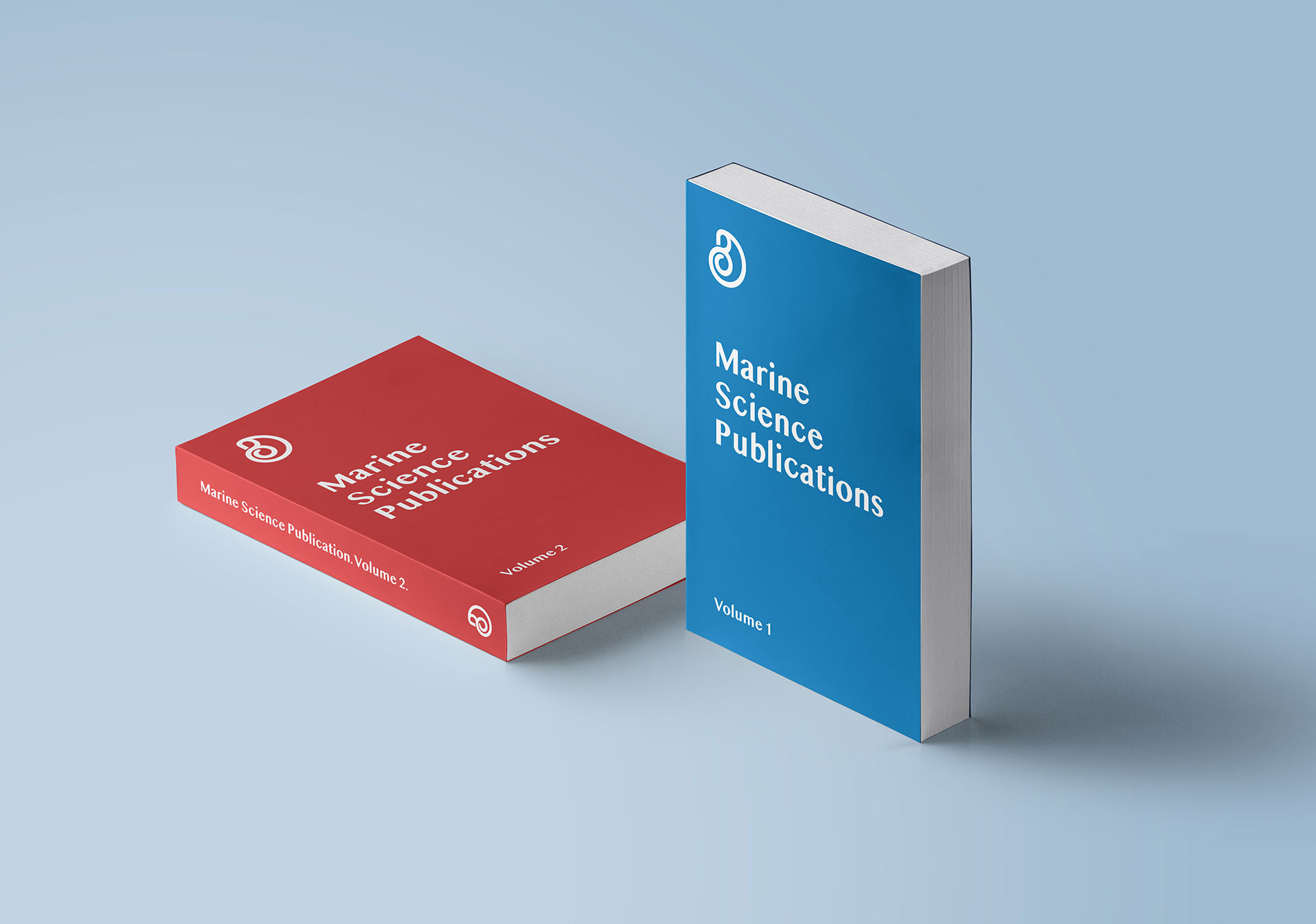 Blue Inspiration Science Publication Design