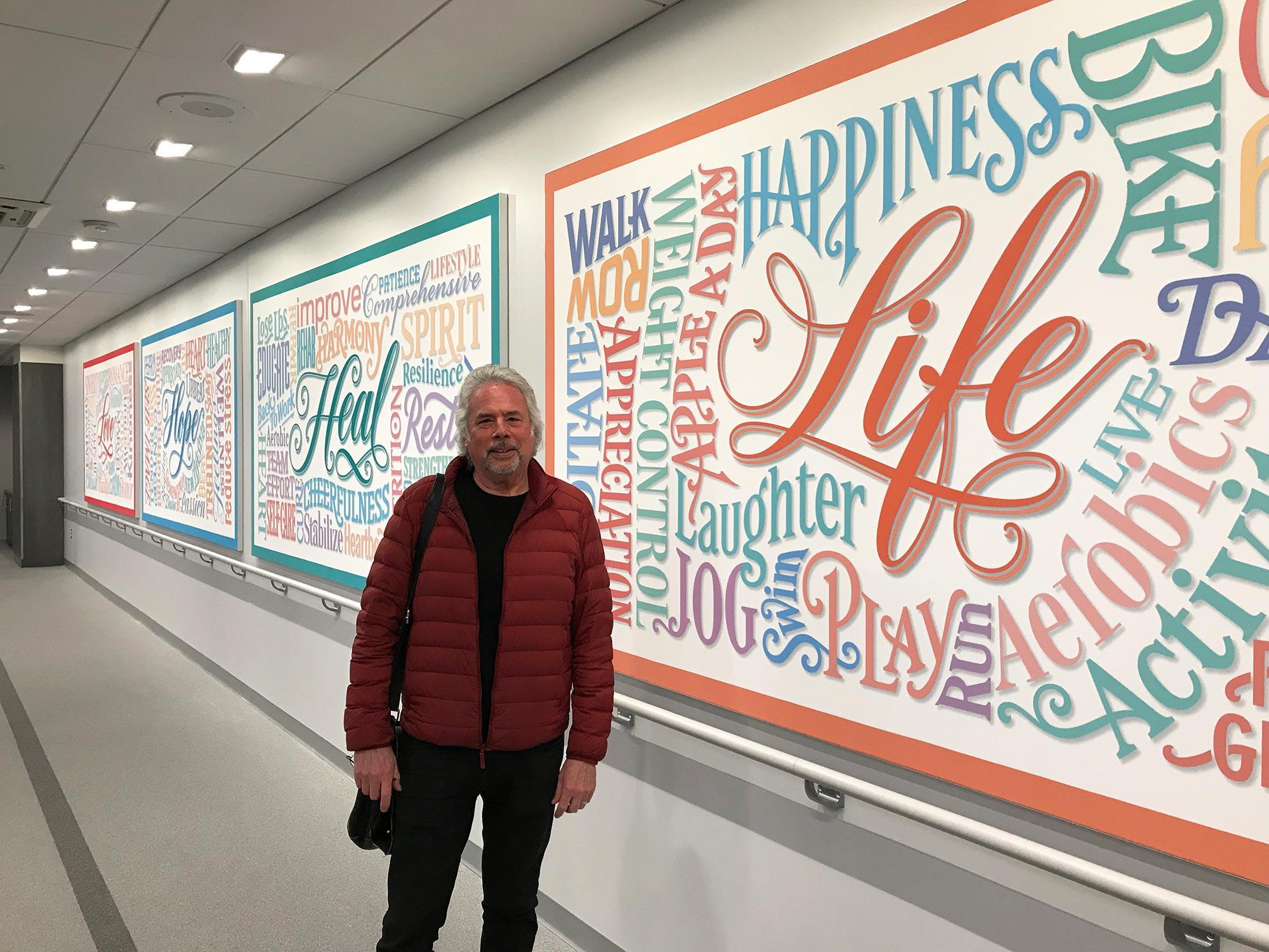 Gerard Huerta Typography Wall Design