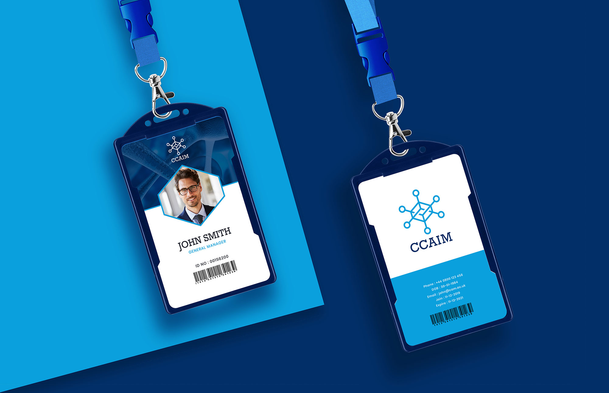 CCAIM Logo on ID Card