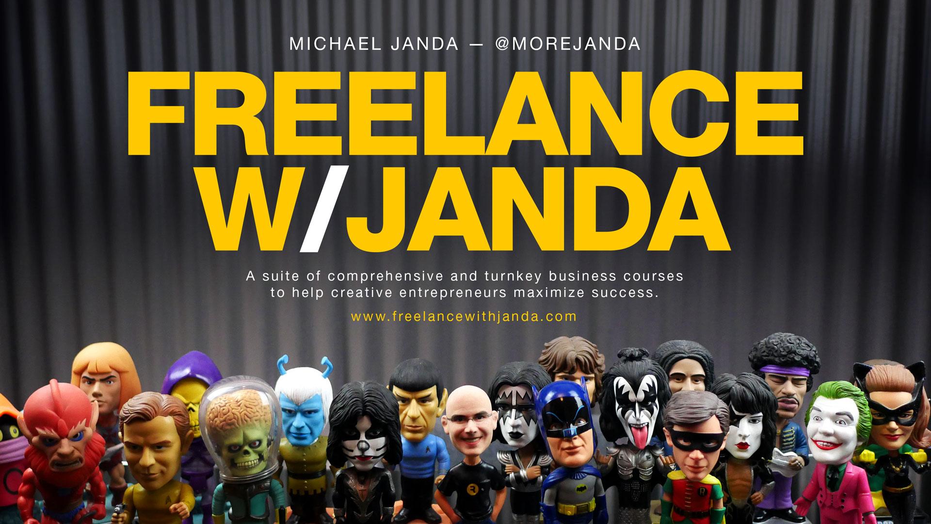 Learn Freelance with Michael Janda