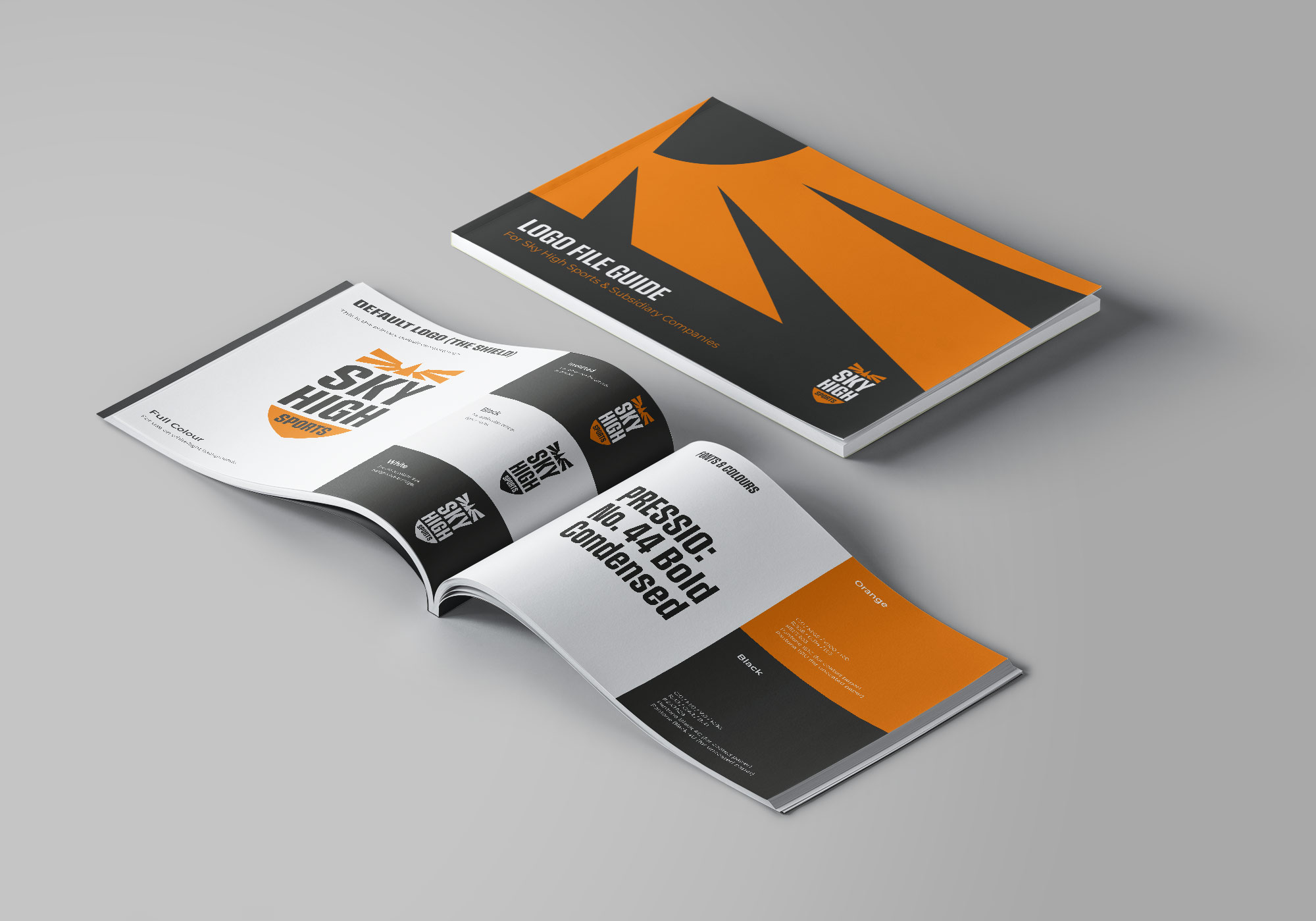 Sky High Sports Logo Design File Guide by Ian Paget