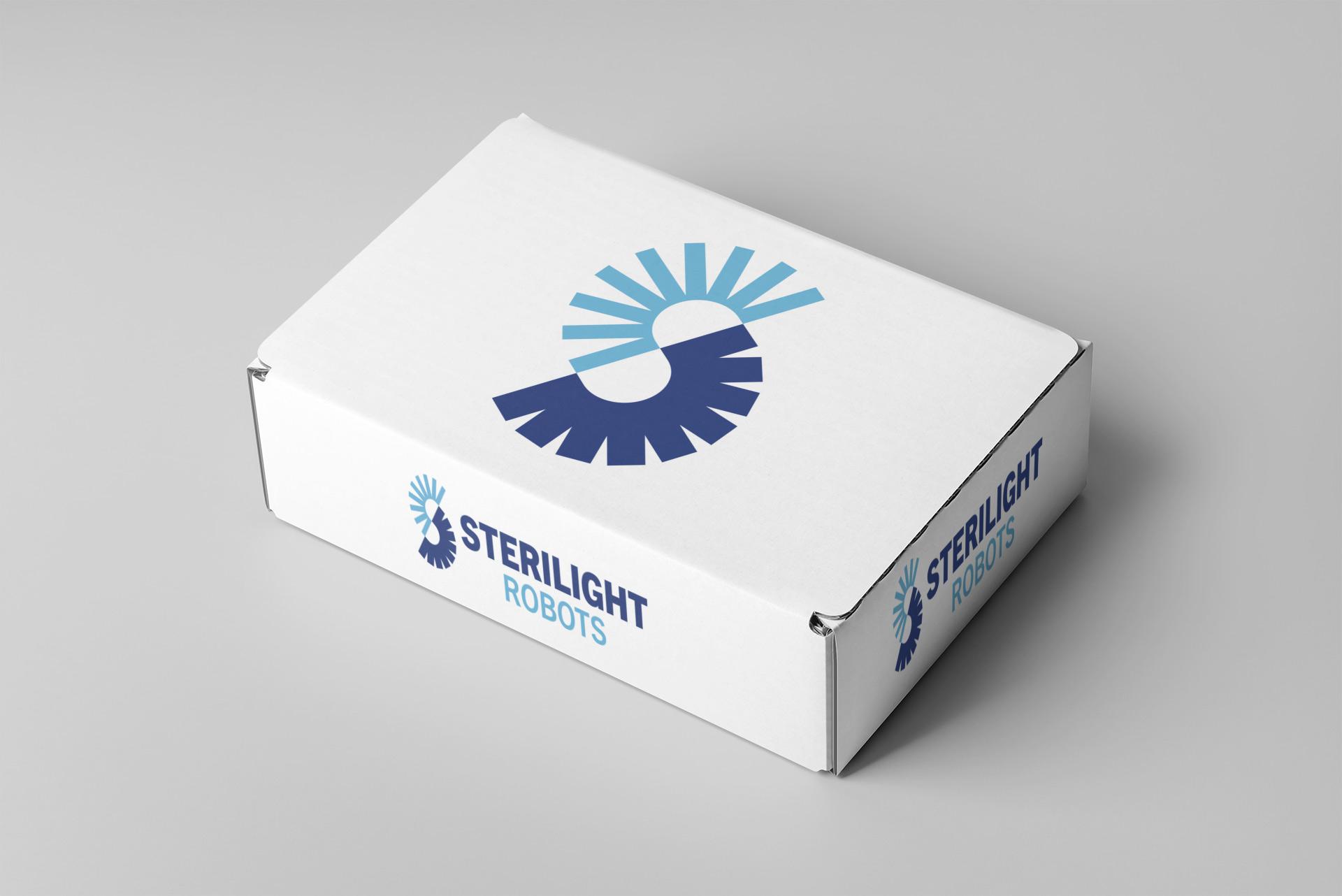 Sterilight Logo Design on Box