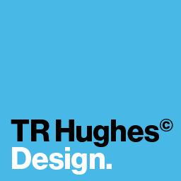 Logo for TR Hughes design
