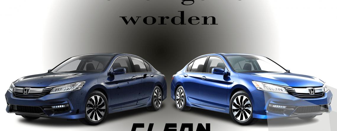 Uw auto schoonhouden