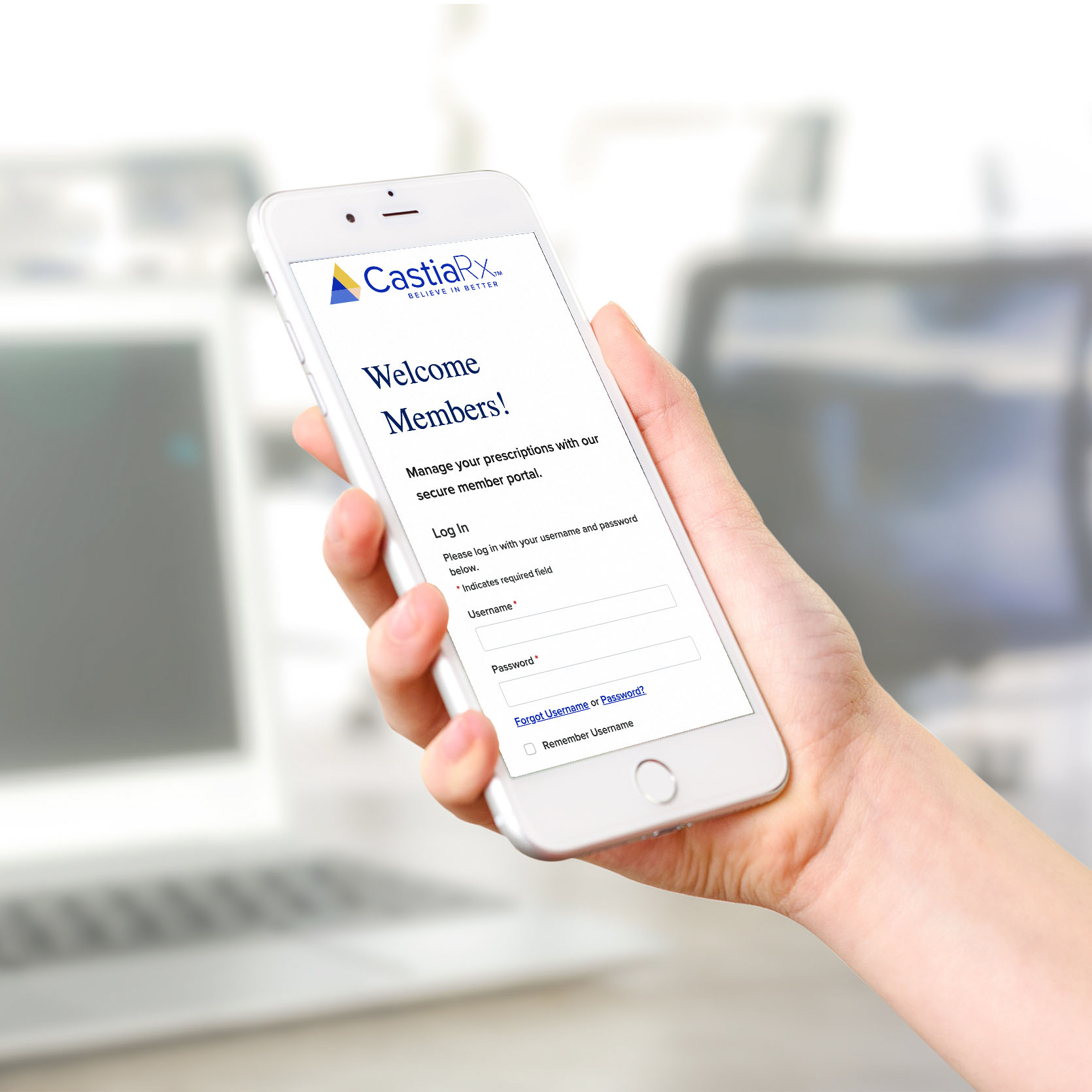 Pharmacy Benefits Manager Smartphone App