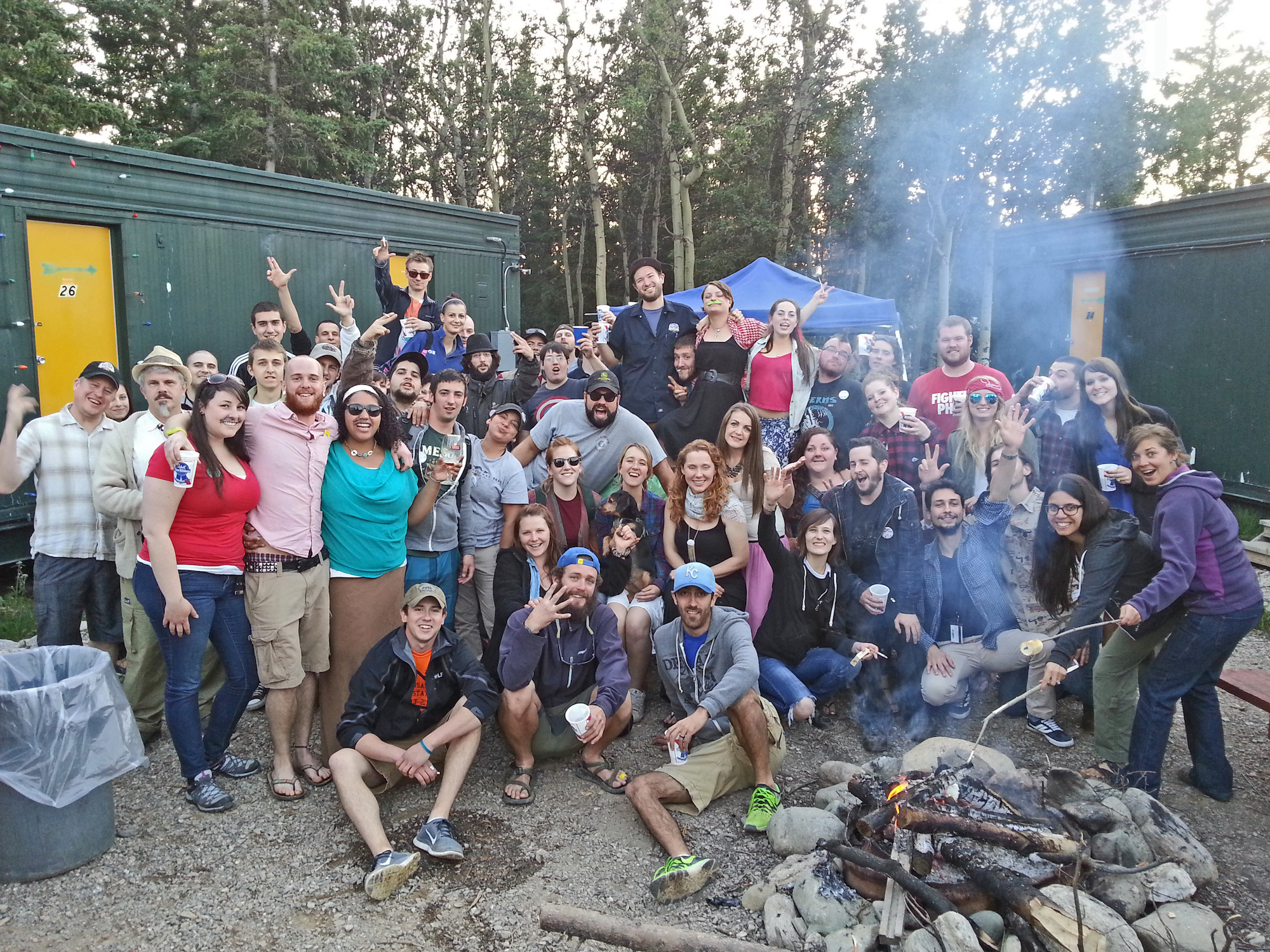 denali lodging northern hospitality group 49th state brewing party friends