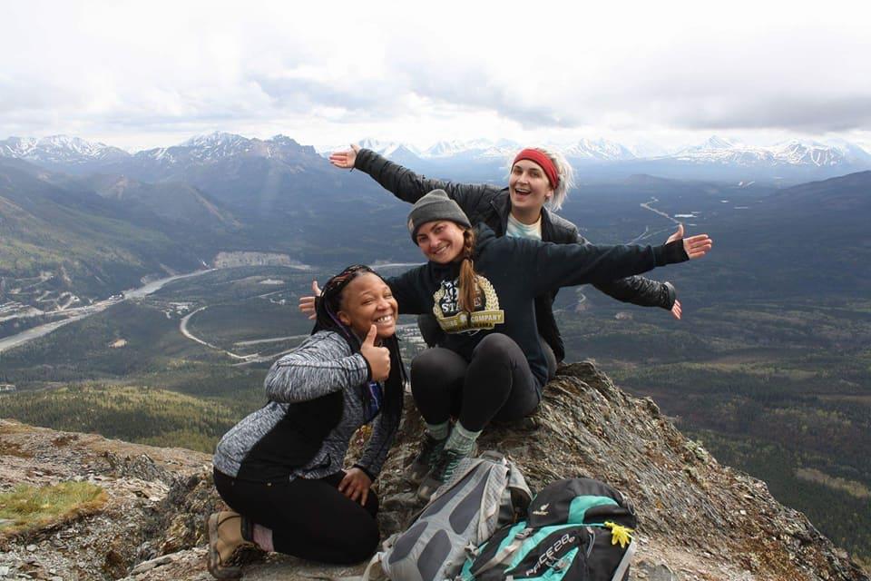 Hiking in alaska denali national park