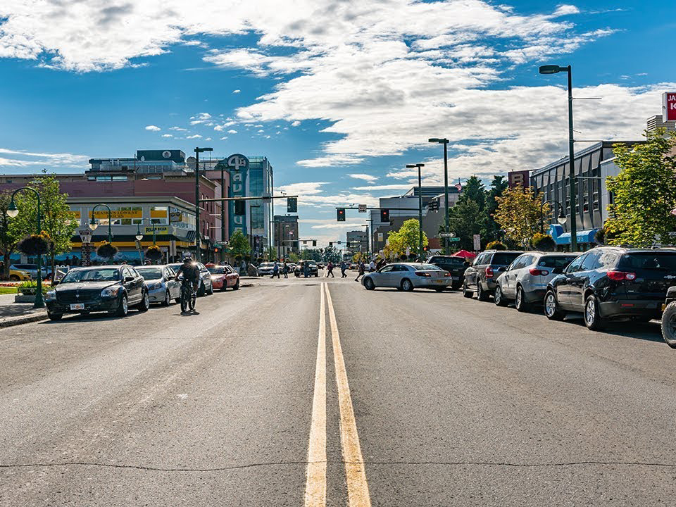 downtown anchorage summer 4th avenue