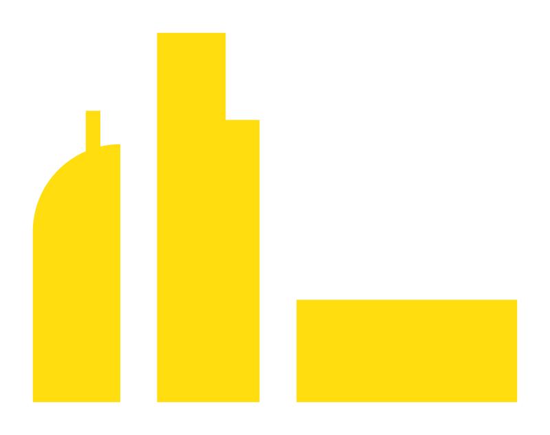 City Skyline Sticker
