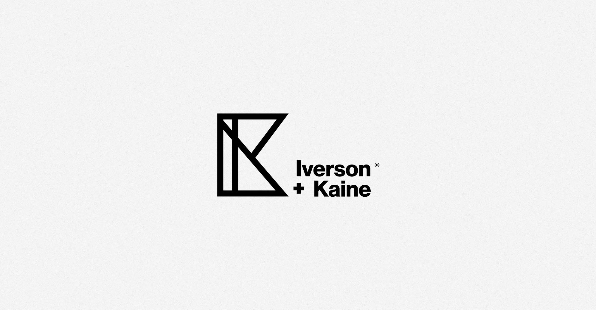Iverson + Kaine Logo Design