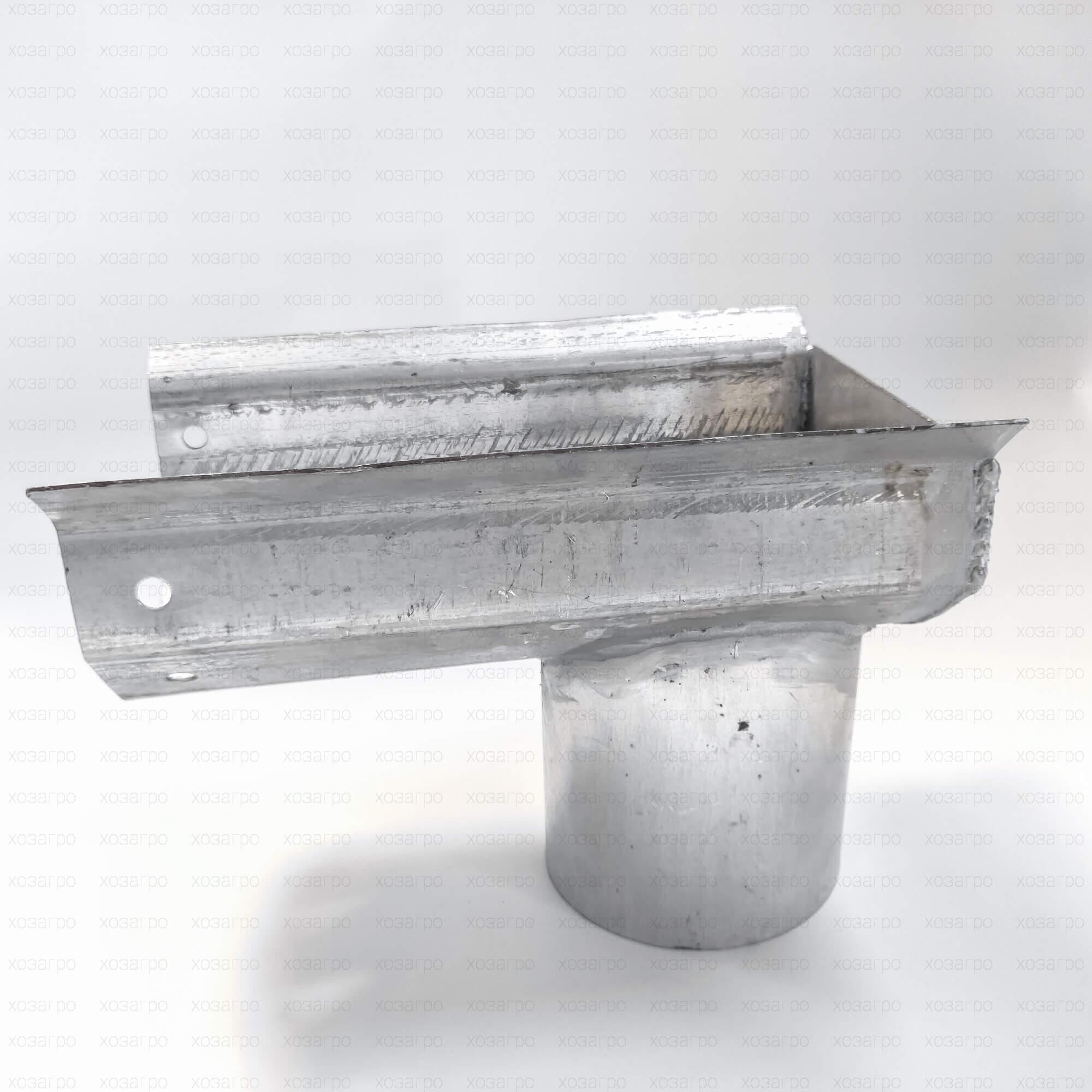 Слив оцинкованный Ø150mm (длина 350mm)
