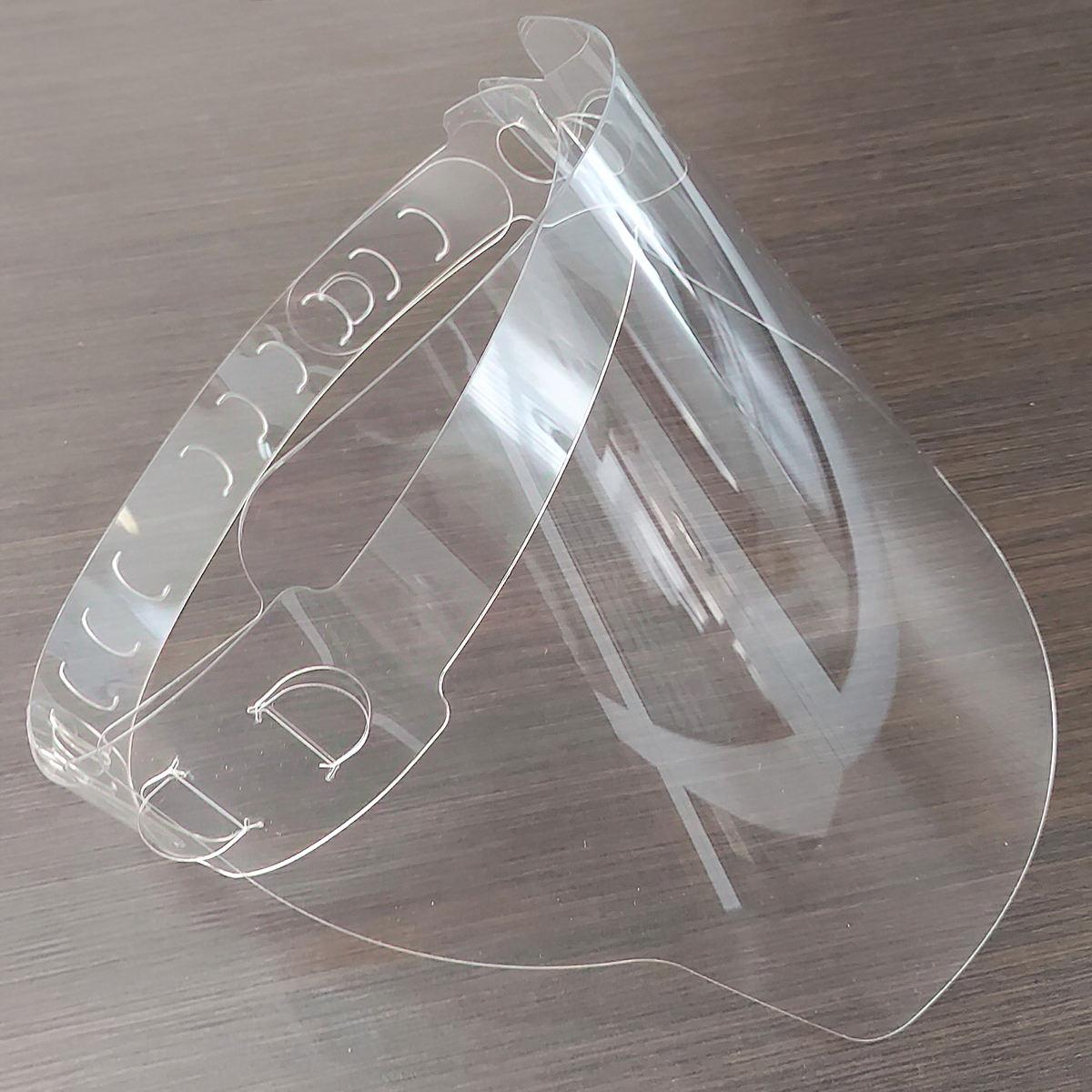 Прозрачный защитный экран для лица