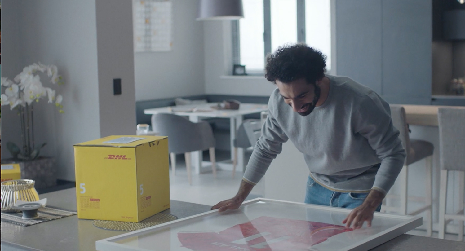 DHL Advert delivered by Chief