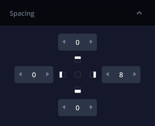 Spacing control allowing to build a better task management system without coding