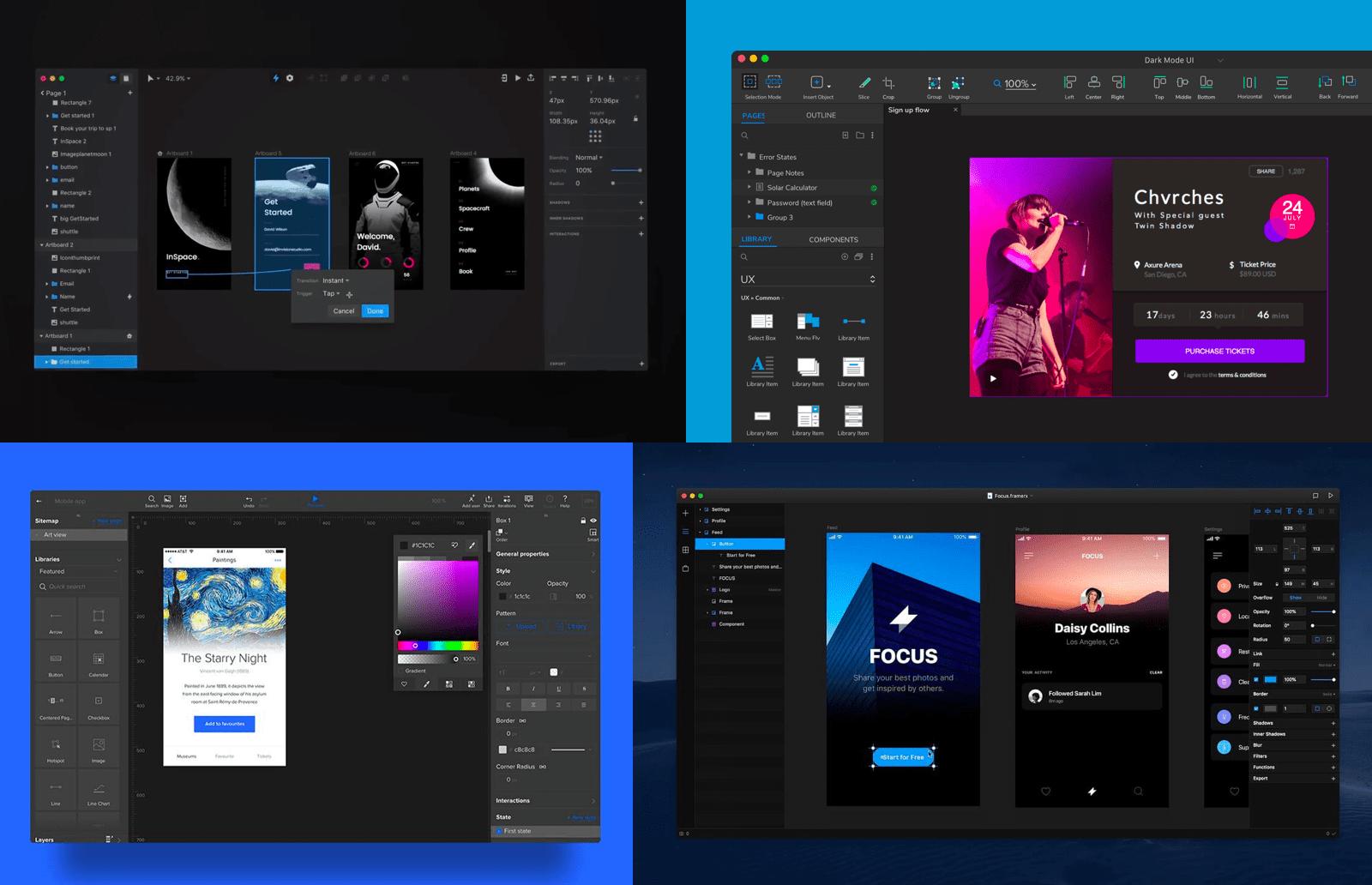 Dark mode as a UI/UX design trend in 2020