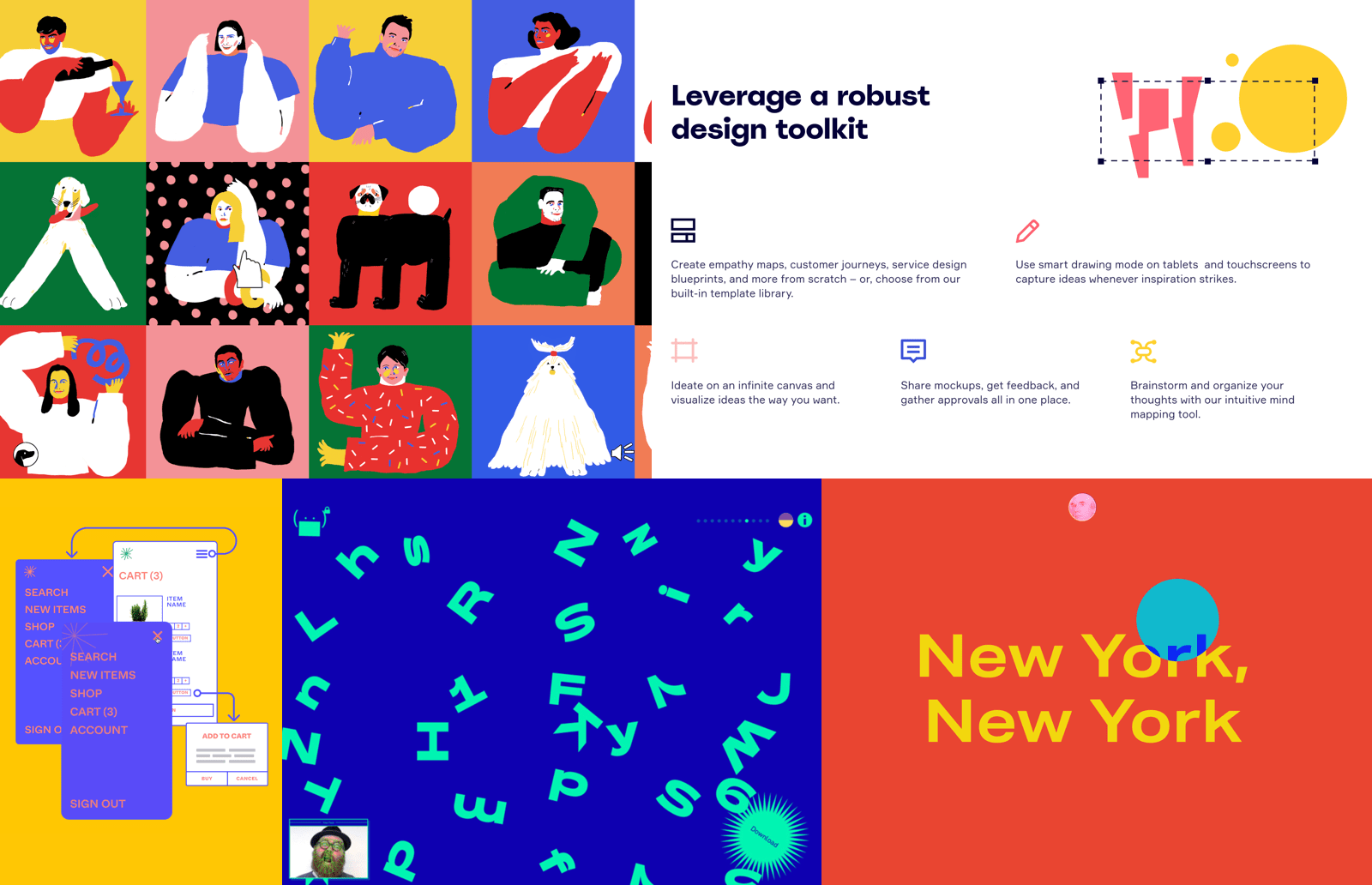 Confusing websites as a UX/UI design trend in 2020