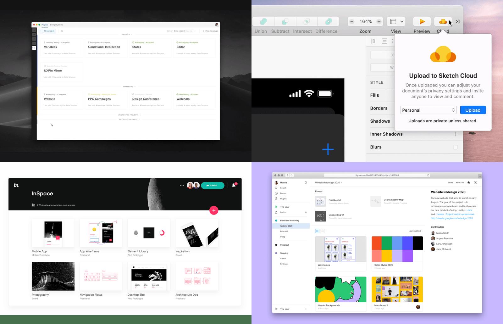 Cloud in UX/UI design in 2020