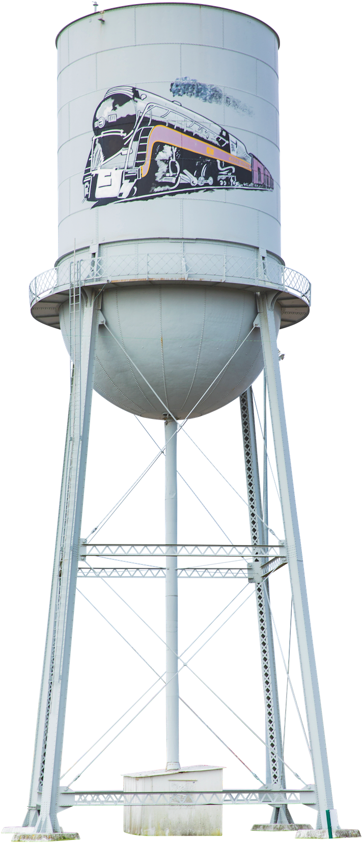Water Tower, Crewe, Virginia