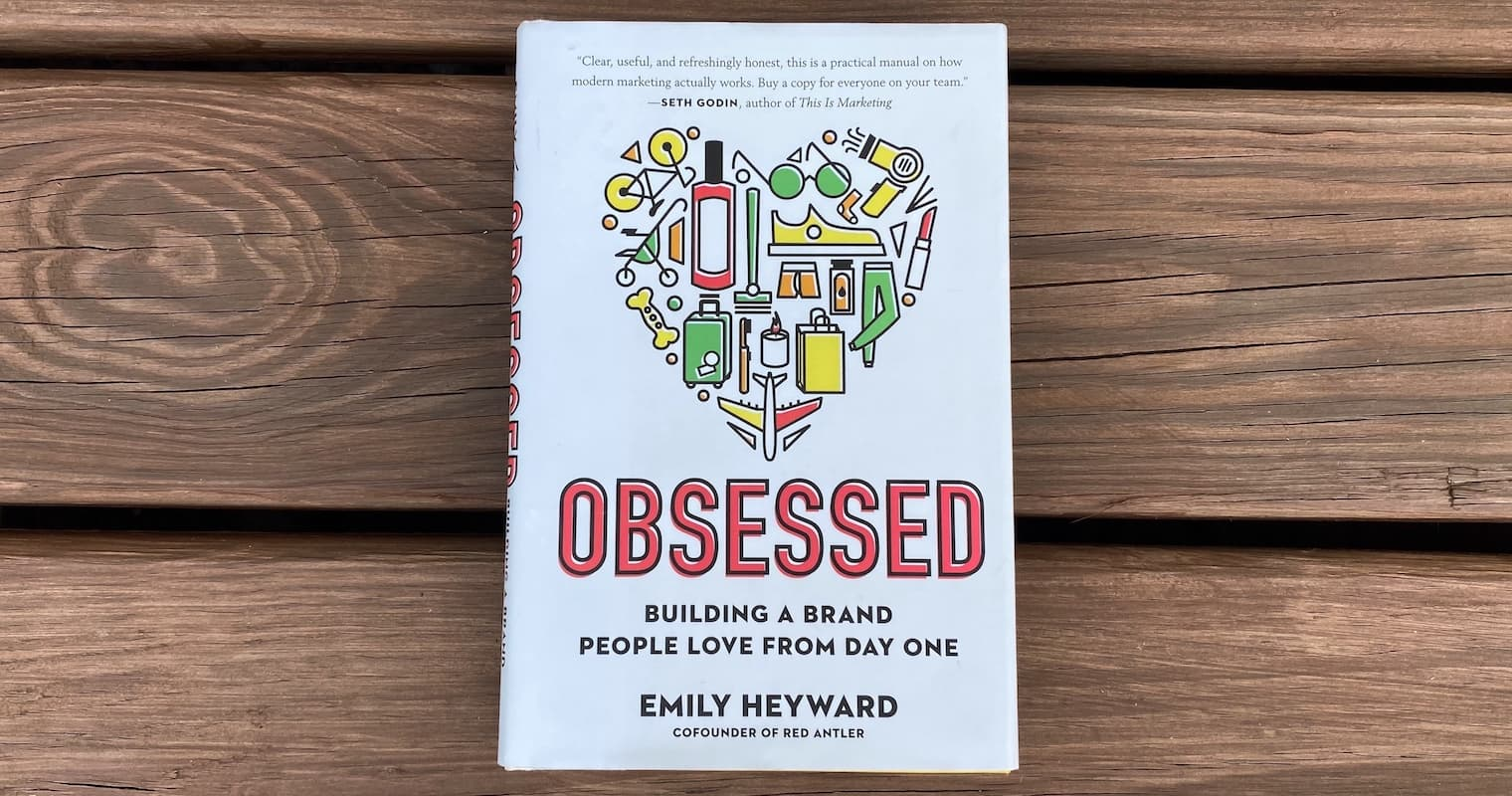 """""""Obsessed"""" by Emily Heyward, book cover"""