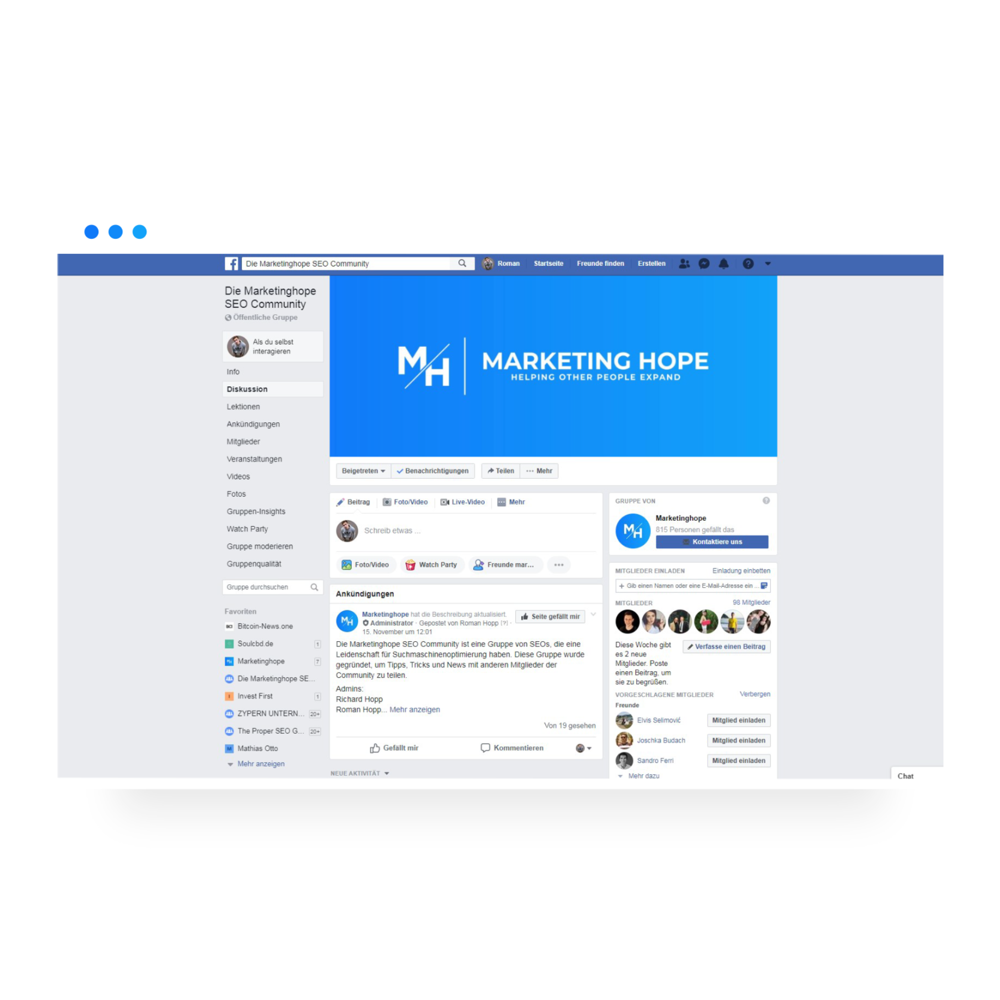 Marketinghope SEO Community