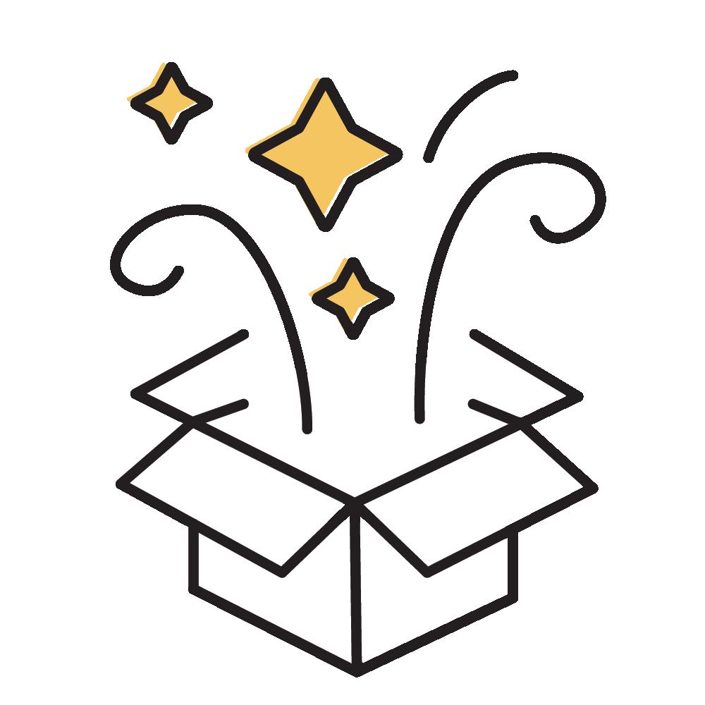 Think outside the box logo
