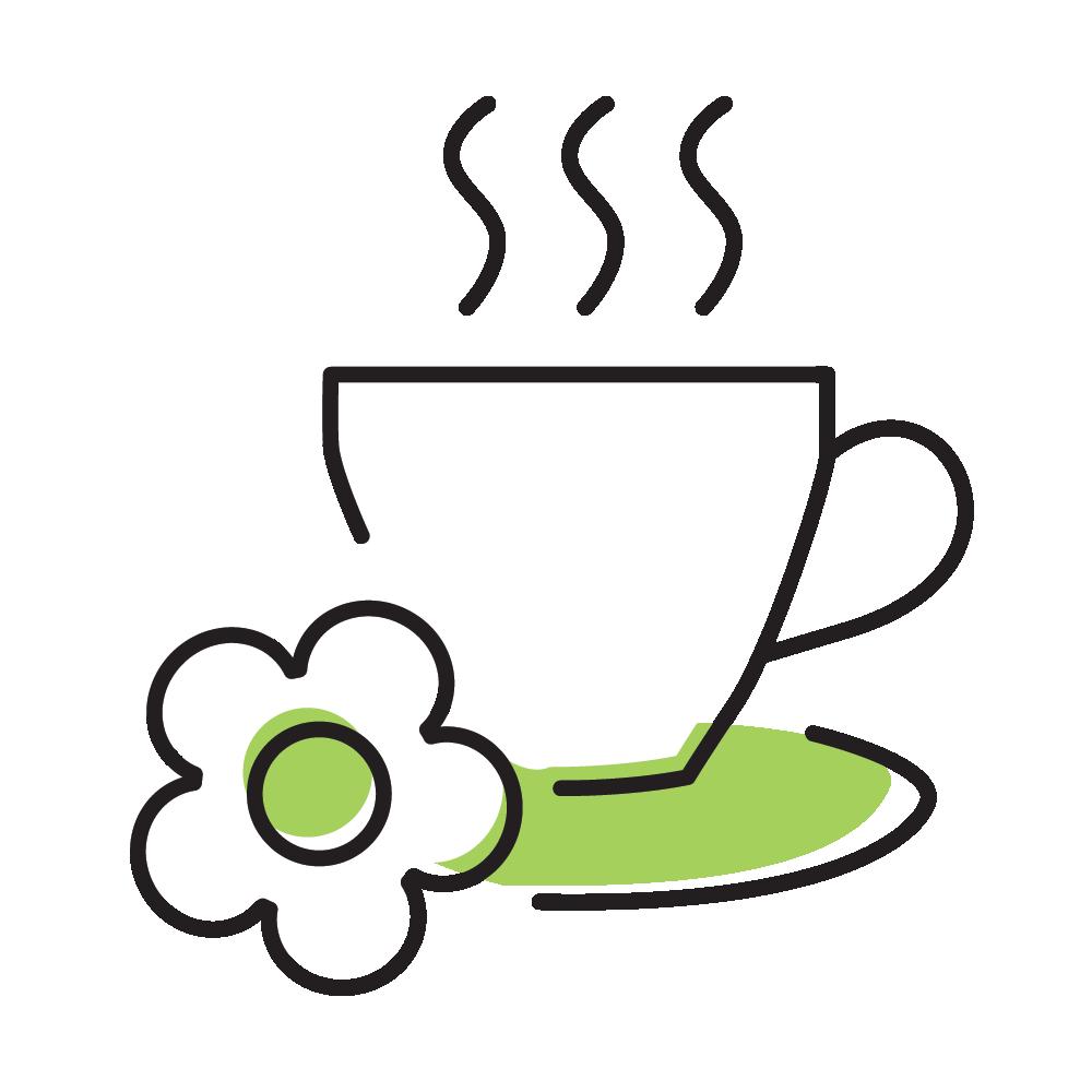 Warm cup of tea logo