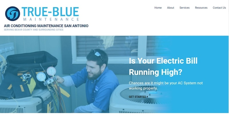 True Blue - AC Maintenance San Antonio
