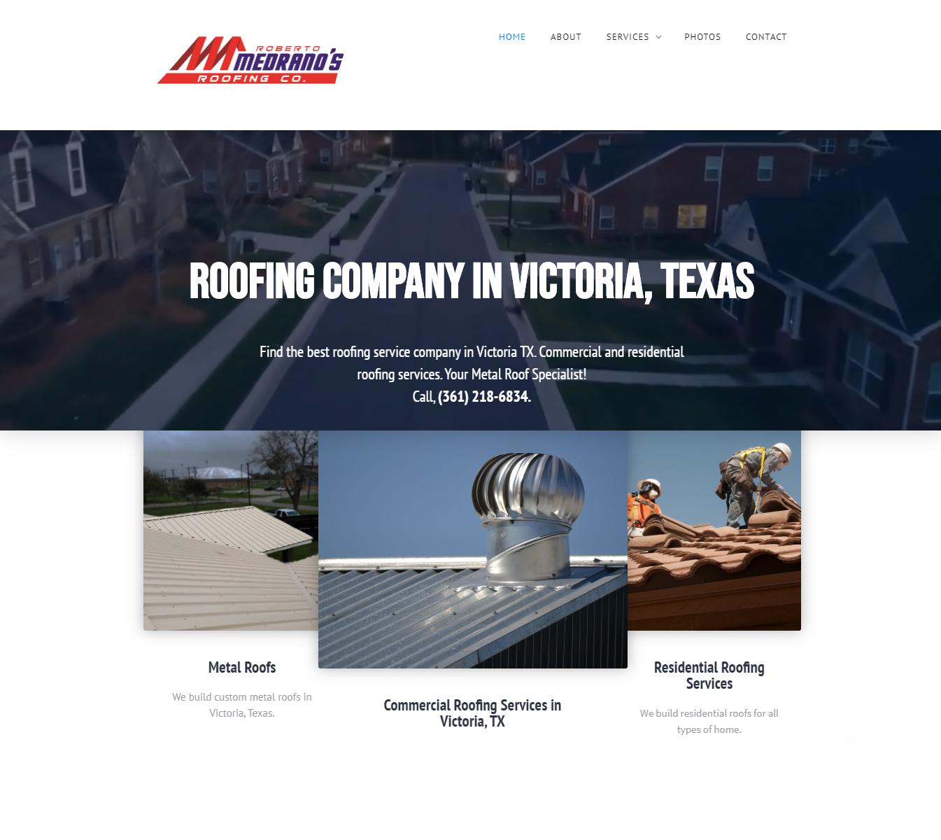 Medrano Roofing Victoria, TX