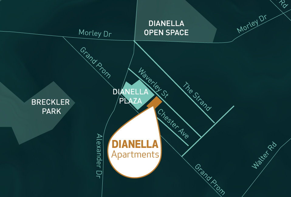 Dianella apartments map