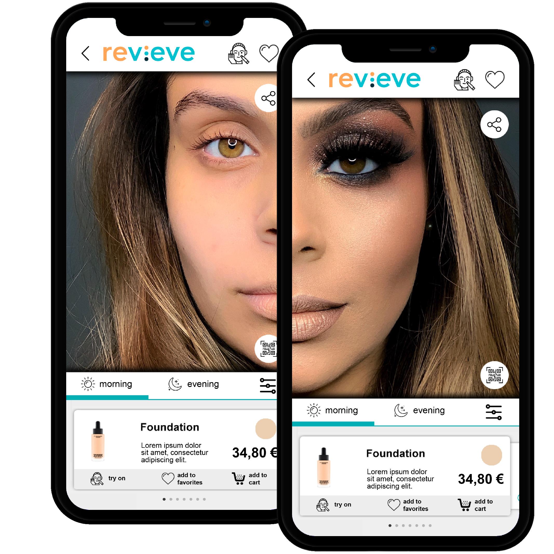 Revieve AI/AR Technology