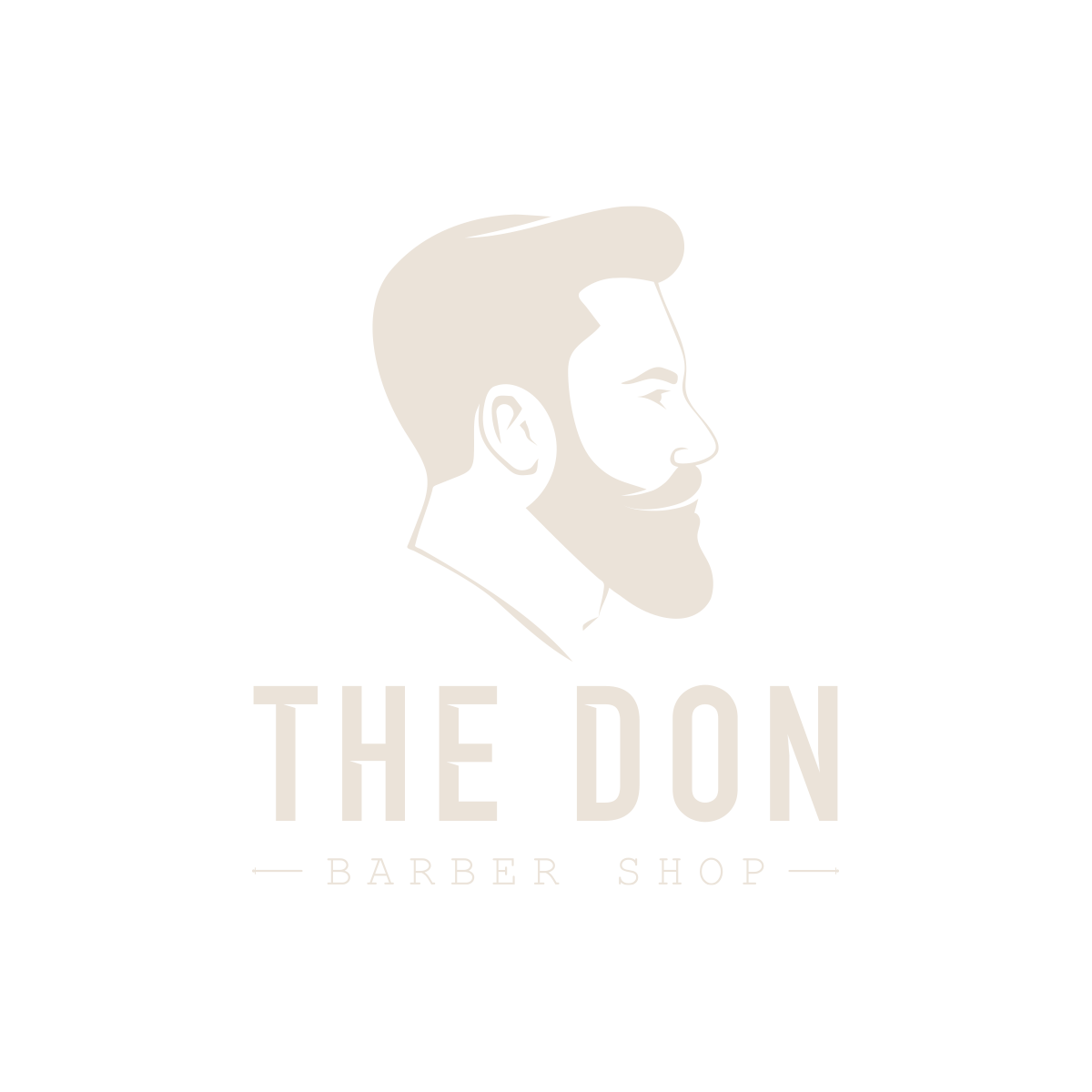 Logo of Man with a beard