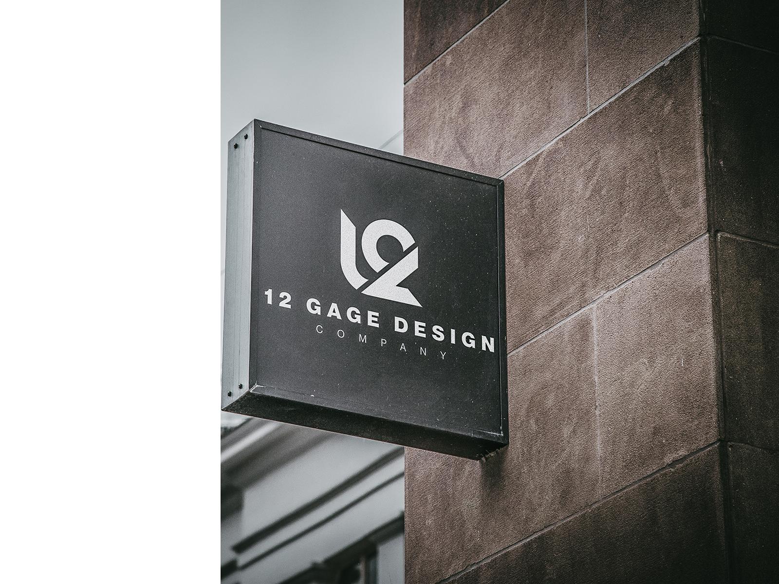 12 gage design sign