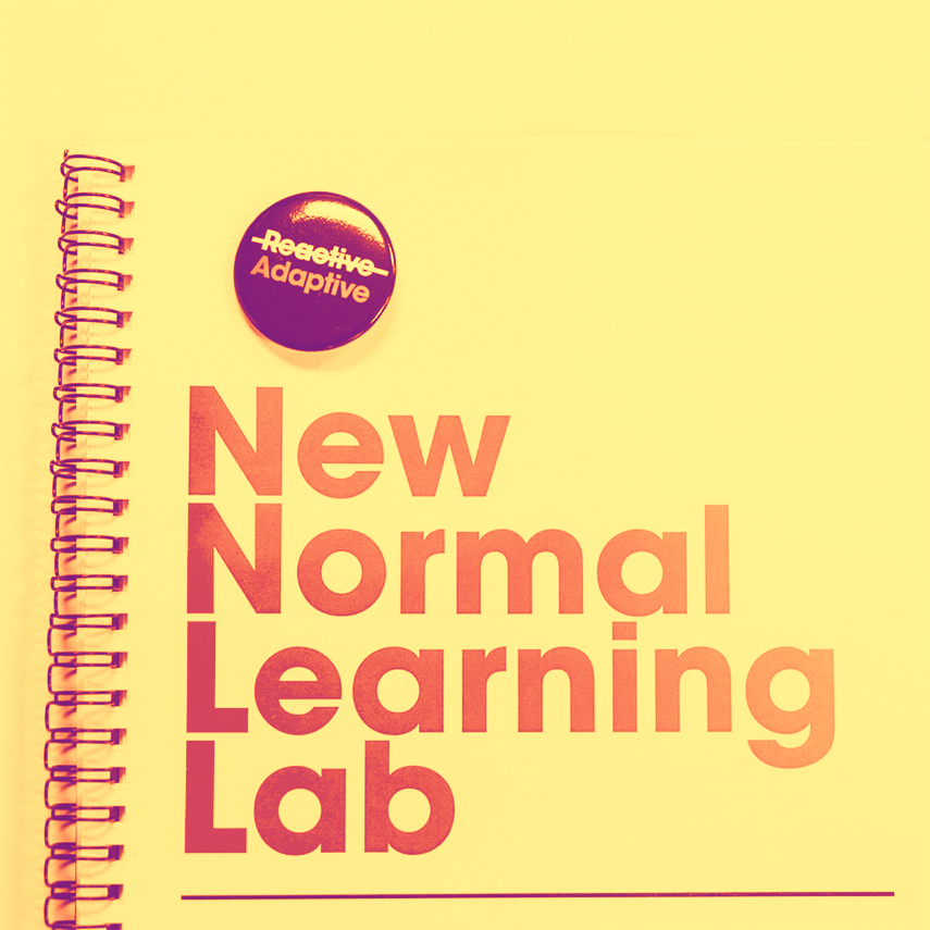 New Normal Leader workbook and button
