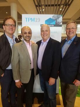 Sascha, Jose, Rob, and Carl at TPM 19