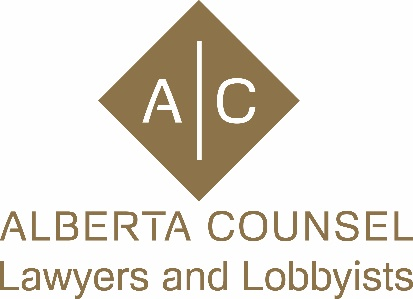 Alberta Counsel Lawyers and Lobbyists