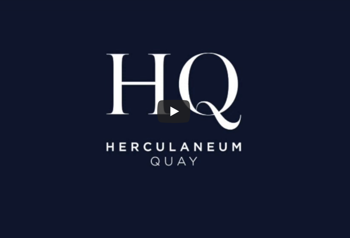 Introducing Herculaneum Quay, with drone footage from February 2020