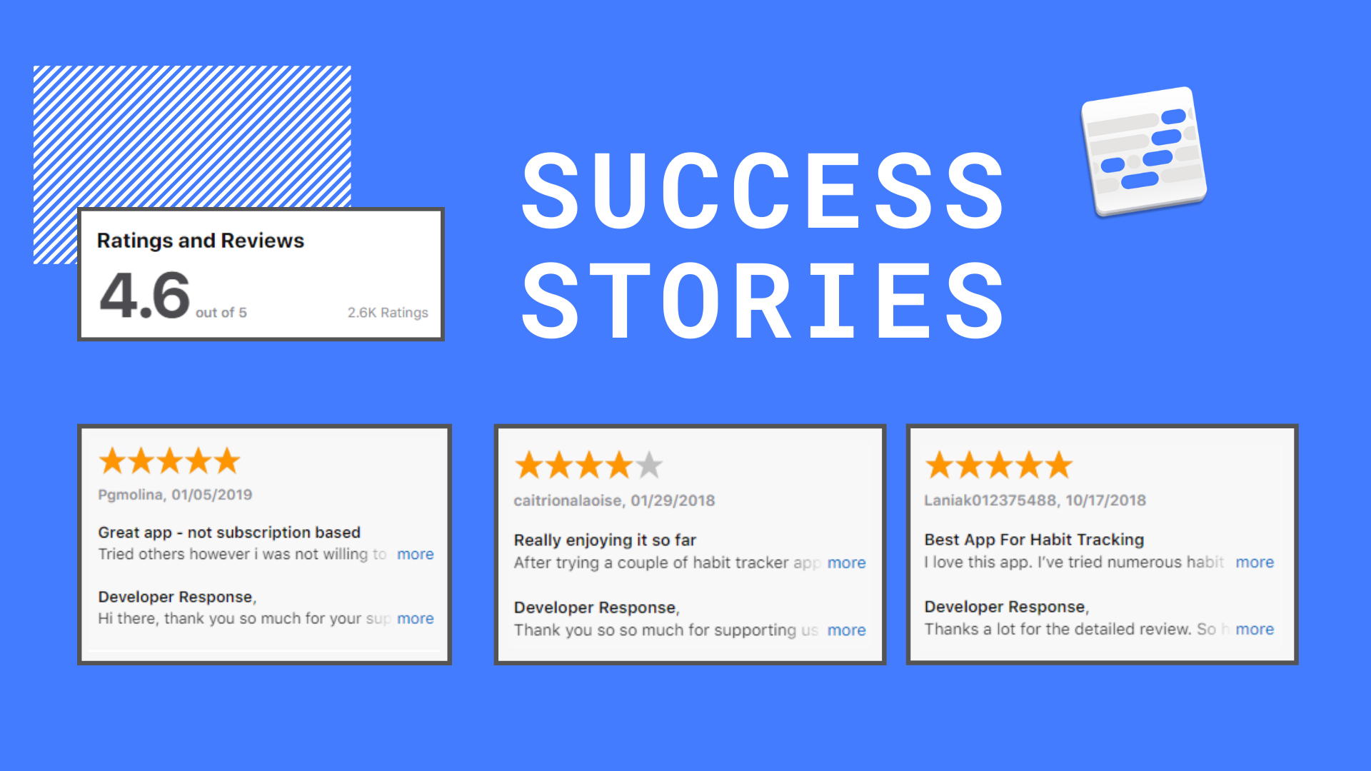 Round up of Success Stories