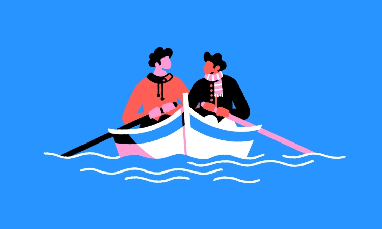 partners, believers, friends, same boat