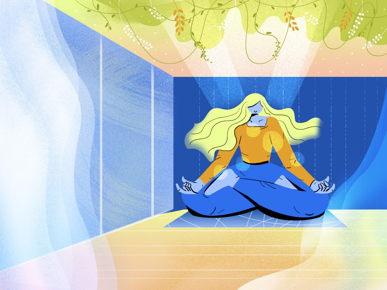 meditation increases concentration and boosts productivity