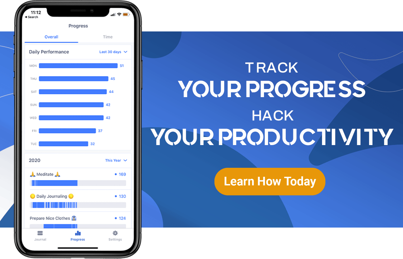 track your progress hack your productivity