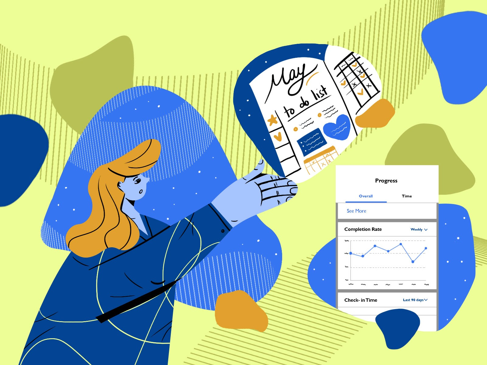 Habit tracking keeps you accountable and honest to what you do